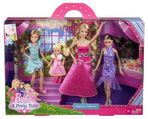 Barbie and Her Sisters in a Pony Tale Gala Gown Giftset Toy, Kids, Play, Children by Barbie (Image #2)