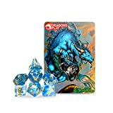 Dragons Play Zodiac Aquarius Dragon RPG Dice Set