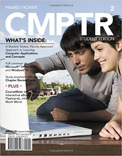 Book CMPTR 2 (with CourseMate Printed Access Card) (New Perspectives) by Pinard, Katherine T. Published by Cengage Learning 2nd (second) edition (2013)