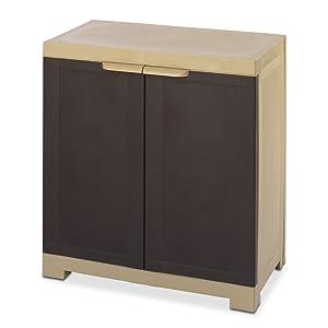 Nilkamal Freedom Mini Cabinet (Brown)