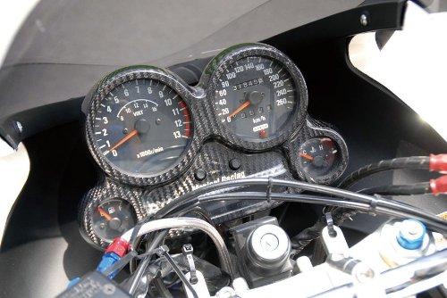 マジカルレーシング(MAGICAL RACING) メーターカバー 綾織カーボン GPZ900R NINJA[ニンジャ]((A1-A6)) 001-GPZ990-080A  綾織りカーボン製 B00JX70M4A