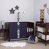 Carter's Carter's - Be Brave - 3-Piece Crib Bedding Set, Navy, Light Blue, White