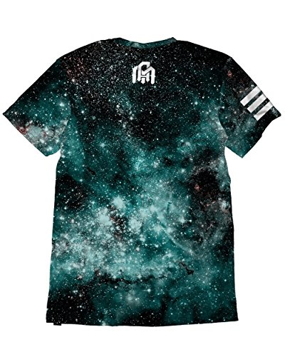 INTO THE AM Mens Casual Short Sleeve Vibrant Tee Shirts