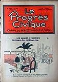 PROGRES CIVIQUE (LE) [No 655] du 03/03/1932 - POL FERJAC - ALBERT MATHIEZ EST MORT - GROSRICHARD CRIMES ET CHATIMENTS - 12 ANS DE BAGNE A VIAL - REUILLARD - AU PAYS DES GRAND LAMA - - LENORMAND - P. GREIZE - R. BONISSEL - MILITARISME ET COLONIALISME - LIEUT-COL. A. METOIS - THOMAS ZLIN - M. LAPIERRE - PHILOSOPHIE - PICHON - POL FERJAC - LE CHOMAGE - SOUBEYRAN - L. MEIRUEYS - ROGER DENUX H. GUILAC - M. CORDAY - F. BOURGIN.