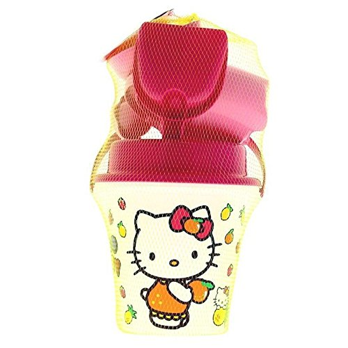 Androni- 1335 Hk Hello Kitty Bucket With Accessories 17 Cm ()
