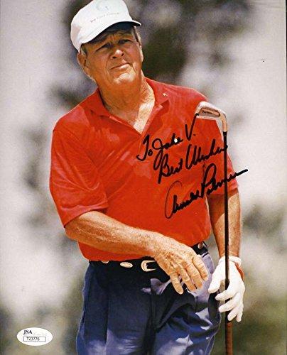 Arnold Palmer Signed Photo - 4
