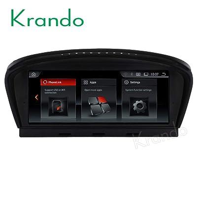 'Autoradio Krando Android 4.4.4 8.8 DVD avec GPS pour BMW 5 Series E60 2005 - 2010 High-tech