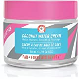 First Aid Beauty Hello FAB Coconut Water Cream: Oil Free Moisturizer for Soft Skin. Use on Face and Body for Perfectly…