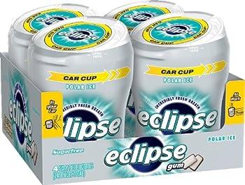 Eclipse Sugar Free Gum, Polar Ice, 60 Piece Big E Bottles