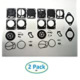Seadoo 650 657 720 717 787 800 Carb Rebuild Kit with Base Gaskets Xp Carburetor Sea Doo by JSP Manufacturing