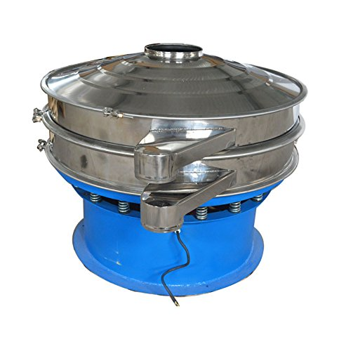 220V Electric Vibrating Screen Industrial Filter Sieve Machine With #20,#40,#100 Mesh Screens