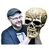 Giant Skull Halloween Prop 9-1/2″l X 13-1/2″w X 12-1/2″d Review