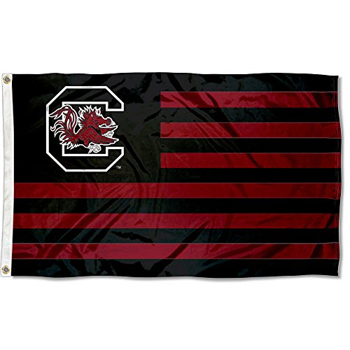 University of South Carolina USC Alumni Nation Stripes Flag (Gamecocks Carolina South Flag)