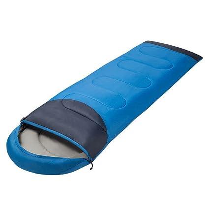 HM&DX Saco de Dormir Rectangular Adultos Tiempo Frío de Invierno Ultraligero Saco de Dormir Camping con