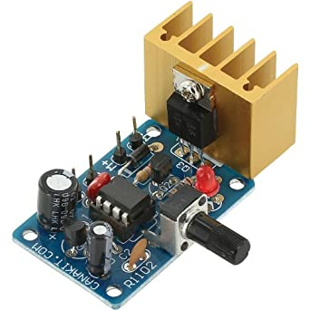 Canakit ck1102 5a motor speed controller pwm for Universal motor speed control circuit