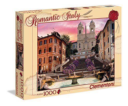 Clementoni Puzzle 1000 pieces - the Trinity Mountains, Rome (code 39219) by Clementoni
