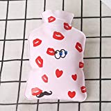 GothYor Youngle Thick Hot Water Bottle Hand Warmer Heater Bag Relaxing Heat Cold Therapy Portable(H0)