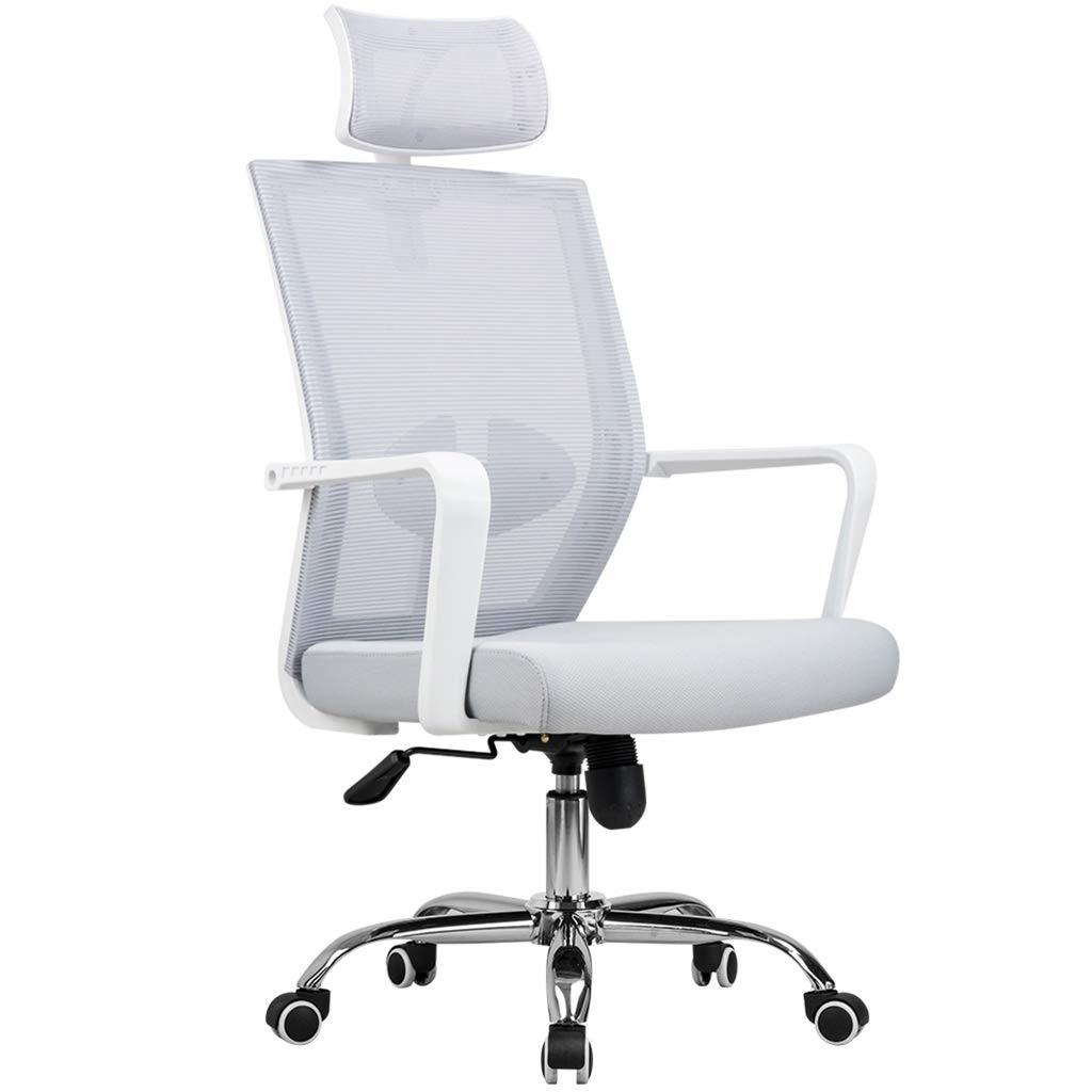 NSSDSD Computer Chair, Ergonomic Design, Scientific Waist, Home Computer Chair (Color : Gray)