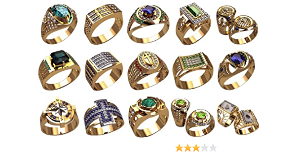 5 pairs of Wedding band Wax patterns  for lost wax casting jewelry// waxes #kp081