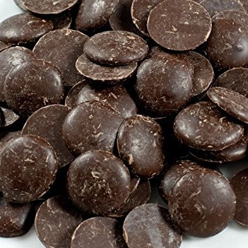 Guittard Dark Chocolate Flavored A'Peels (25-lb Case)