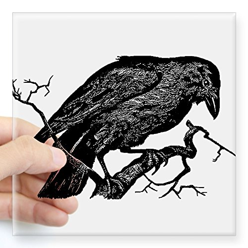 CafePress Vintage Illustration Square Sticker