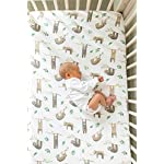 Premium-Fitted-Knit-Crib-SheetToddler-SheetNoah-by-Copper-Pearl