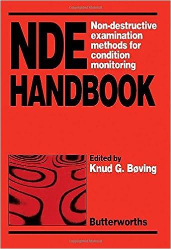 NDE Handbook. Non-Destructive Examination Methods for Condition Monitoring