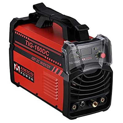 TIG 160 Amp TIG Stick DC Inverter Welder 110/230V Welding Soldering Machine New