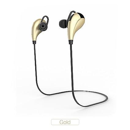 YESDA Auriculares Bluetooth V4.1,Auriculares Inalámbrico Larga Duración de la Batería Recargable,