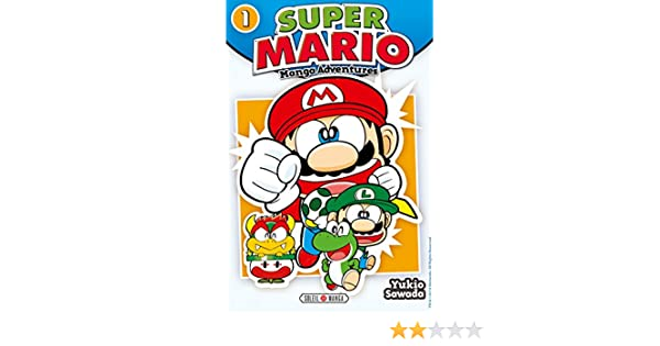 Super Mario Manga Adventures T01 Jeux Video French Edition