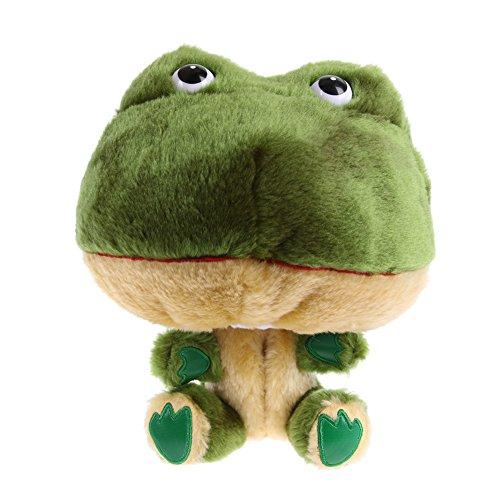 Breakage-proof Golf Club Headcover Plush Cartoon Frog Bar Head Protection Covers
