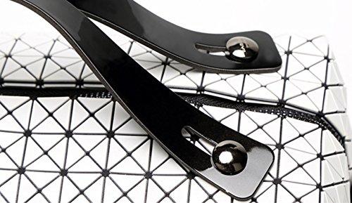 rubiks mensajero de silicona piezas del almohadilla Rubiks Bolso de las del de mujeres estilo de del la diamante del Black bolso japonés de mensajero del dos bolsa Bolso de la 1xwYdqHq