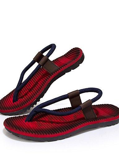 khaki Casual única chanclas sintético de eu40 talla NTX hombre caqui uk9 rojo us10 hombres zapatos us8 red uk7 cn44 eu43 cn41 azul wq4afTX