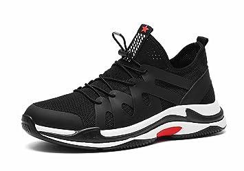 GLSHI Hombres Respirable Corriendo Zapatos 2018 Verano Baloncesto Zapatillas Moda Deportes Malla Aptitud Zapatos: Amazon.es: Deportes y aire libre