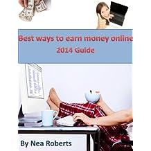Best ways to earn money online: 2014 guide