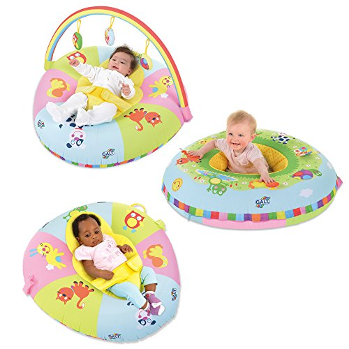 Galt Toys 3 In 1 Playnest And Gym (Velour Playmat)