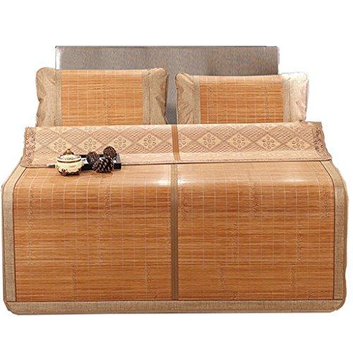Alfombra de enfriamiento de verano Alfombra de bambú Alfombra de bambú plegable de doble cara Acondicionador de aire para...