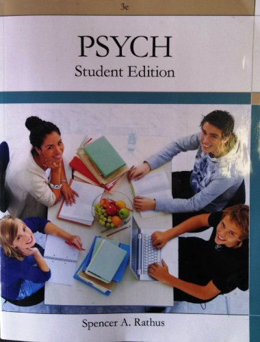 PSYCH Student Edition 3e for Arkansas State University