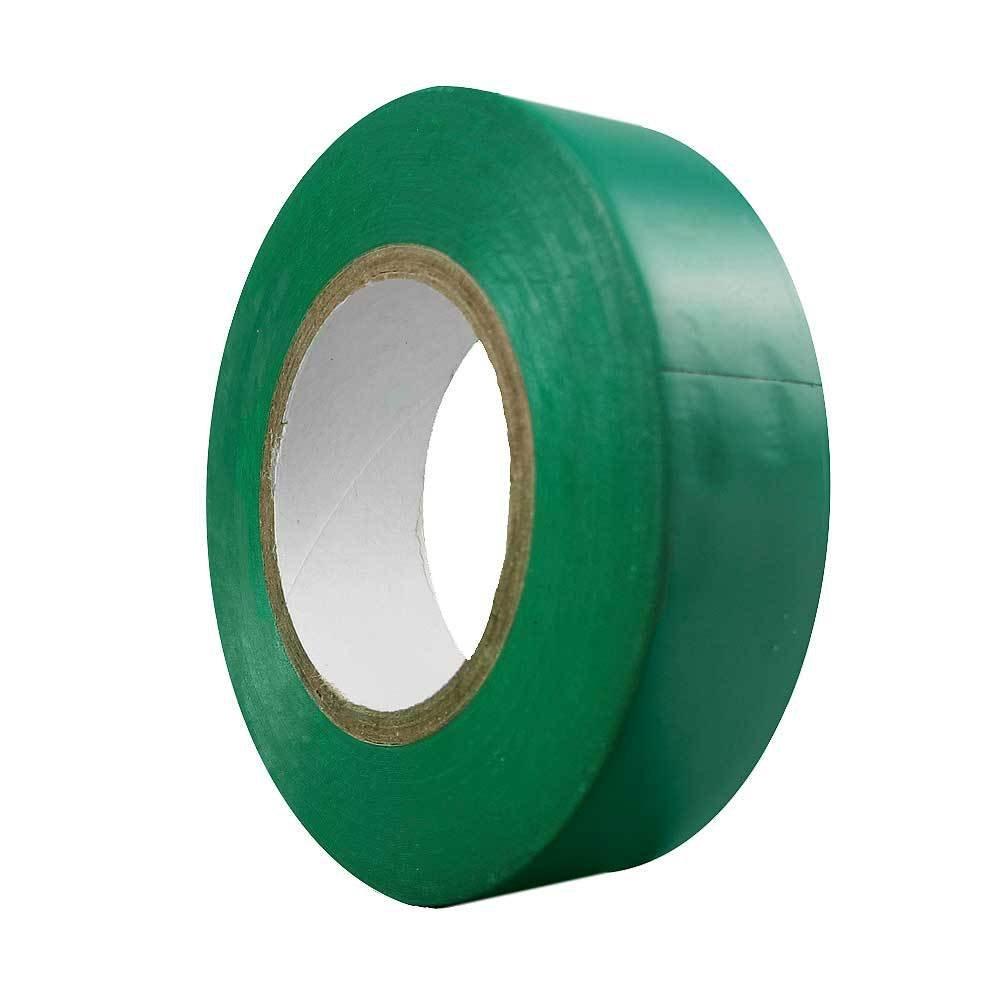 Wolfpack 14060055 Cinta Aislante, 20 Metros x 19 mm, Color Verde
