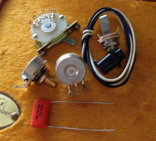 Deluxe 4-way Wiring Kit for Fender Telecaster (Tele)