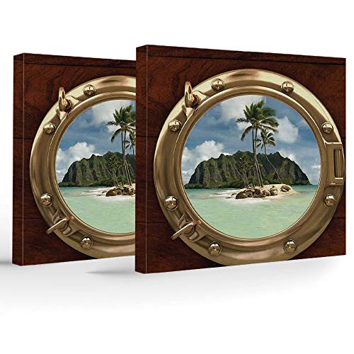 iPrint Canvas Print,Hawaiian Decorations,Wall Decorations for sale  Delivered anywhere in Canada