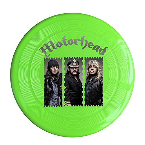 VOLTE Motörhead British Heavy Metal Rock Band KellyGreen Flying-discs 150 Grams Outdoor Activities Frisbee Star Concert Dog Pet - Ray Ban Class A