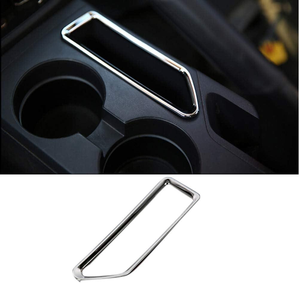 YUZHONGTIAN 2011-2015 for Jeep Patriot Auto Left Hand Drive Interior Accessories Hand Brake Console Storage Box Cover Trim ABS Chrome 1 Piece