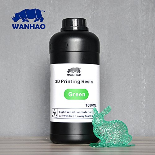 Wanhao 3D-Printer UV Resin - 1000 ml - Green 22348