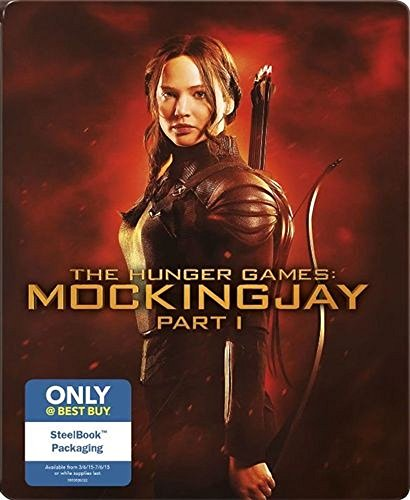 The Hunger Games: Mockingjay, Part 1 Steelbook [Blu-ray/DVD]