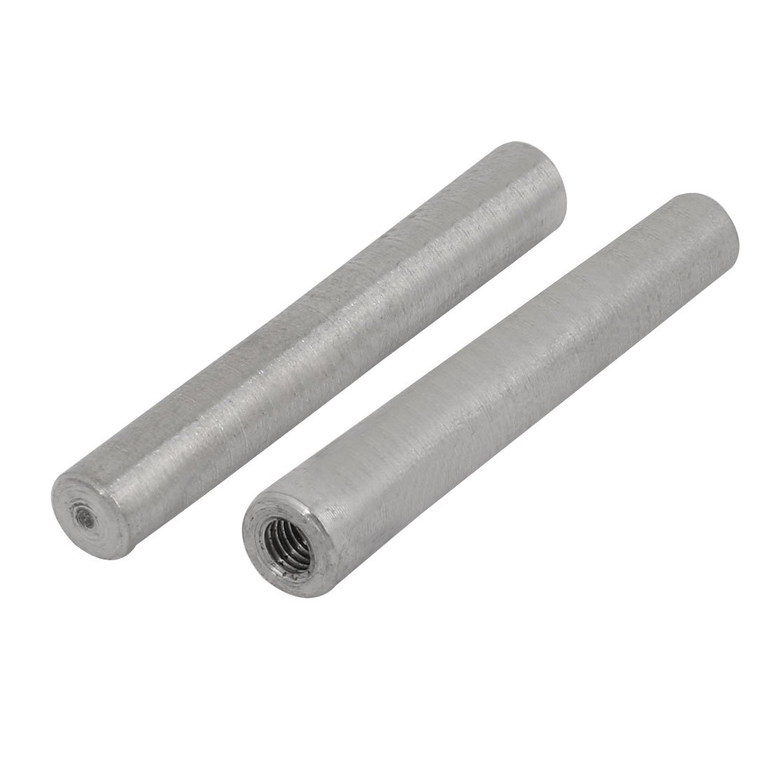 uxcell 2Pcs 304 Stainless Steel 8mm Nominal Dia 60mm Length M5 Female Thread Taper Pin