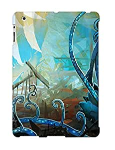 FGbDs0YbqLw Cover Case - Blue Monster Swarm Protective Case Compatibel With Ipad 2/3/4