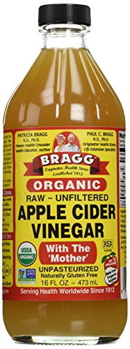 Bragg Organic Raw Apple Cider Vinegar, 16 Ounce - 12 Pack