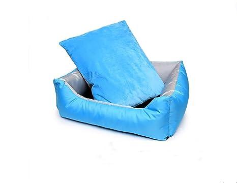 Ange Cama de Perro Lavable Easy-Clean de Lujo/Cama de Gato Plegable con