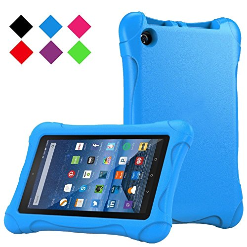 Photo - Anken Fire 7 2015 Shockproof Case Light Weight Kids Case Super Protection Cover Case for Kids Children for Amazon Fire Tablet (7 inch Display - 5th Generation, 2015 Release Only) (Blue)